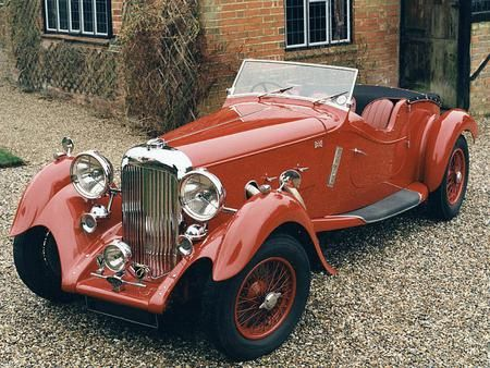 Wonderful Old Cars   1939 Aston Martin Lagonda Rapide