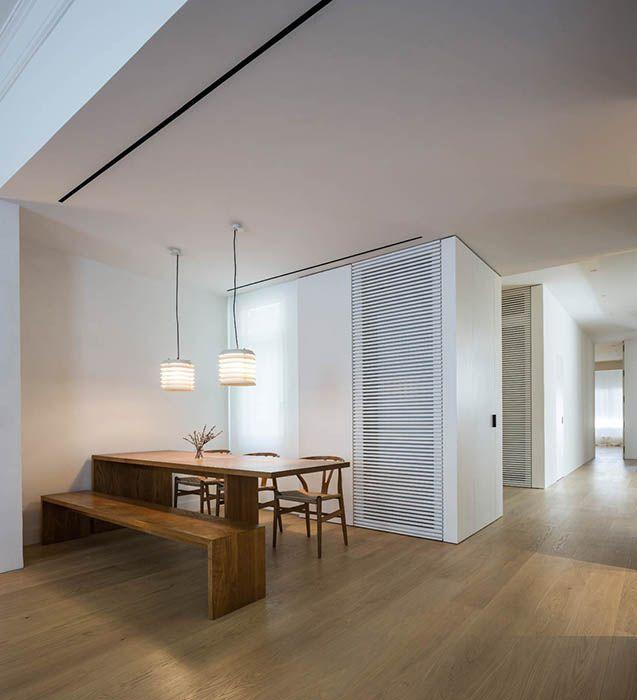 Barcelona, simplicity, minimalism, wood, Francesc Rife Studio