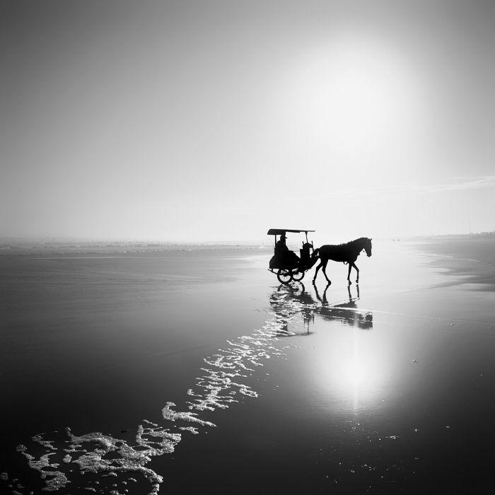 Ocean journey photography digital by hengki koentjoro black and white