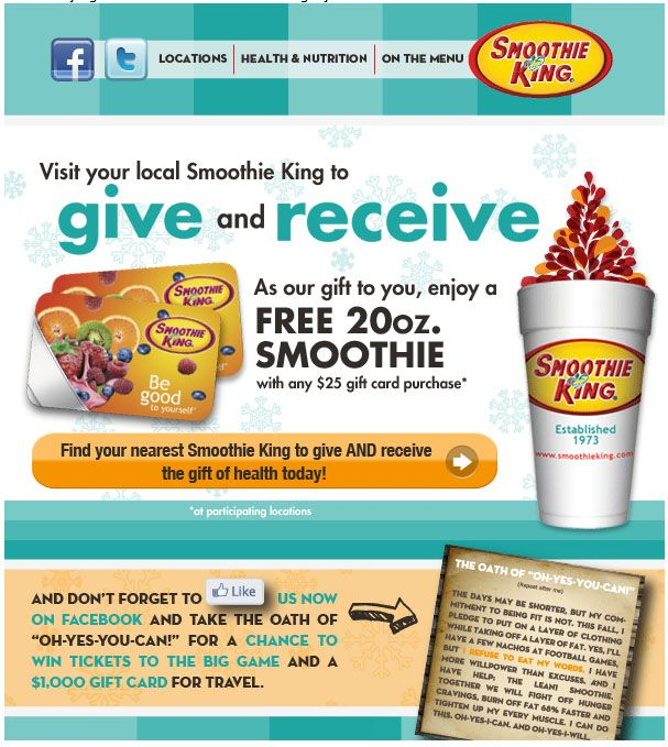 image regarding Smoothie King Printable Coupon titled Smoothie king discount codes on the internet : Most straightforward drive trailer discounts