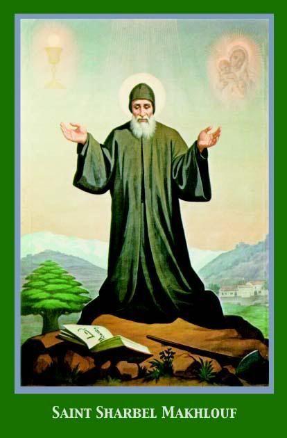 Novena to St. Charbel : Miracle Prayer to Wonderworker - SHARE http://jceworld.blogspot.ca/2014/07/novena-to-st-charbel-miracle-prayer-to.html
