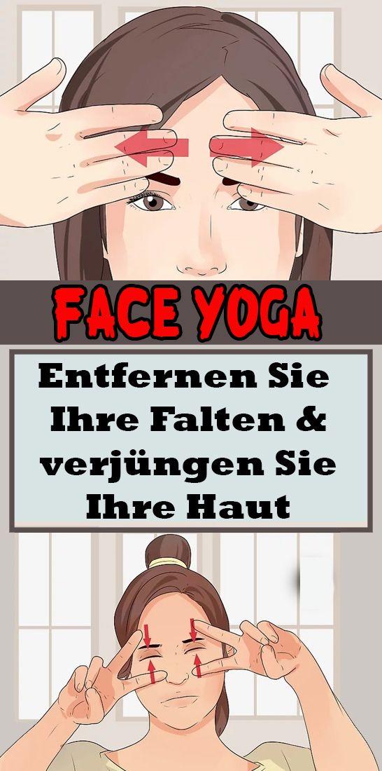 Entfernen Sie Ihre Falten und verjüngen Sie Ihre Haut mit Face Yoga