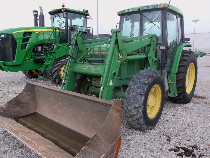 85hp John Deere 6400 with 640 loader from 20 years ago