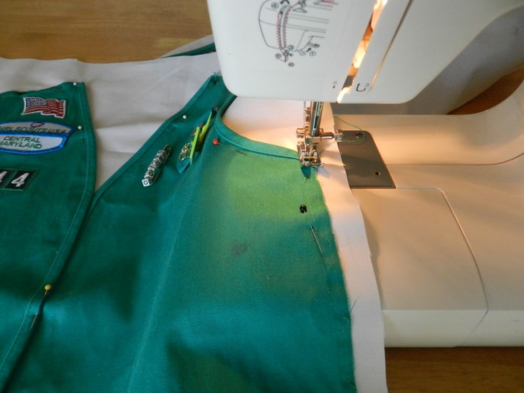 Girl Scouts Vest Pillow