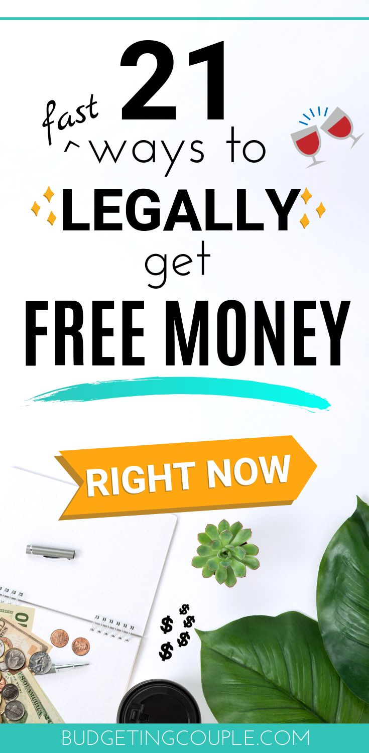 How To Get Free Money Now & Lots More in 2020 (Top 21 Ways