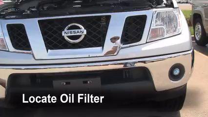 Oil & Filter Change Nissan Frontier (2005-2016) 2009 Nissan Frontier LE 4.0L V6 Crew Cab Pickup