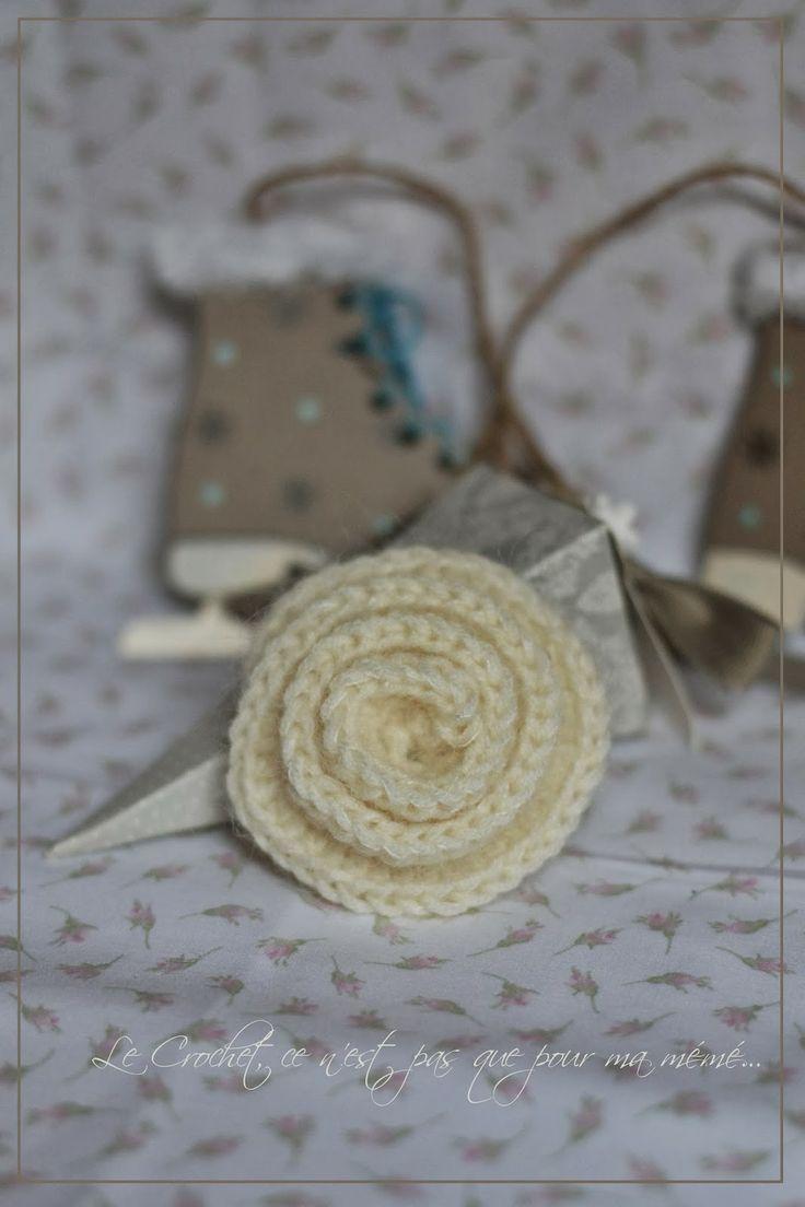 Rosette #Crochet
