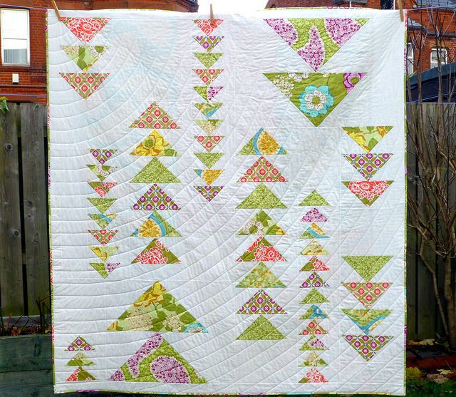 Spring Geese Quilt for Popular Patchwork Mar16 | by Just Jude Designs