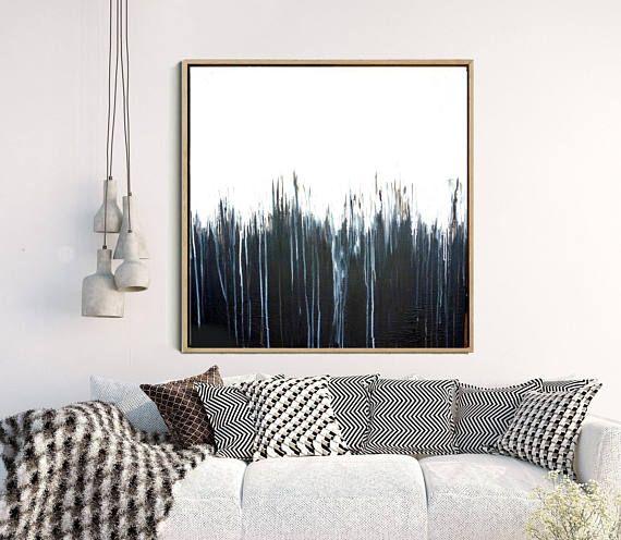 Minimalist Wall Art, Abstract Art, Abstract Print, Black Abstract Art, Monochrome Art Print, Home Decor, Wall Decor, Instant Download