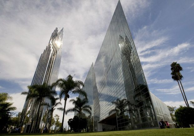 Crystal Cathedral - now Christ Cathedral (CA)  Looks like it has grown since I was there...
