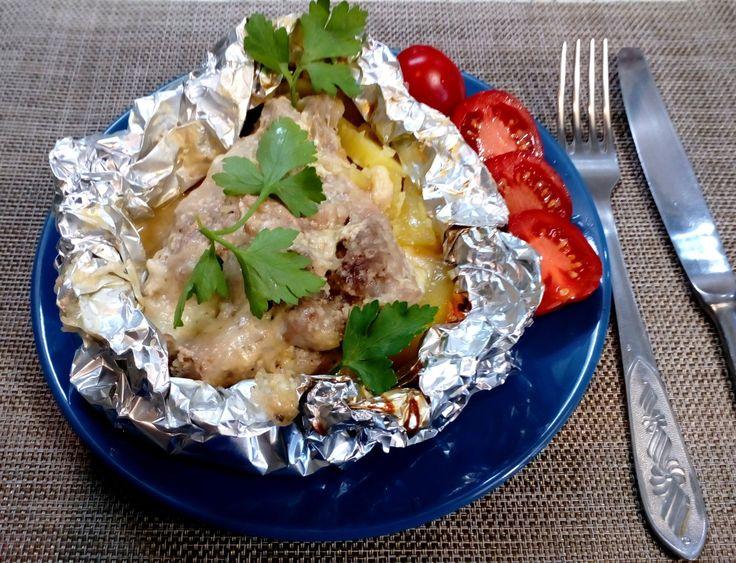 Мясо по - Французски (низкокалорийный рецепт)