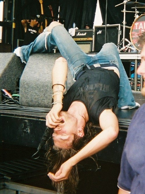 Taking Back Sunday - will forever be my favorite picture of Adam Lazzara