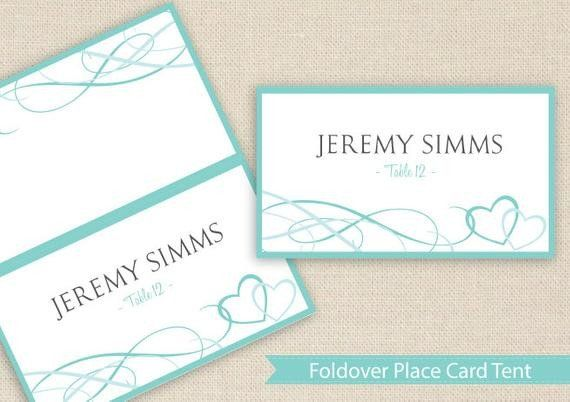 Staples Tent Cards Template Best Of Place Card Tent Download Instantly By Diyweddingtemplates Place Card Template Tent Cards Wedding Place Card Templates