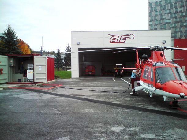 AIR - TRANSPORT EUROPE, spol. s r.o.  -  Vrtuľníková záchranná zdravotná služba