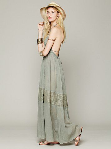 $129 http://www.freepeople.com/endless-summer-triangle-top-maxi-27203405/