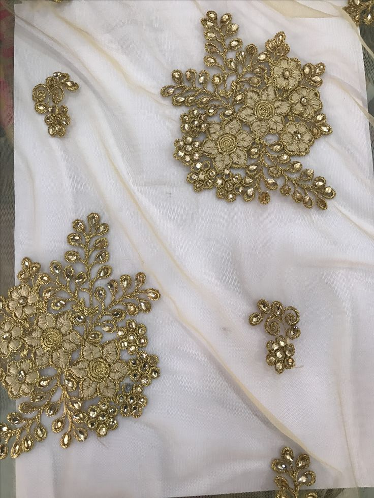 golden sequence work tulle