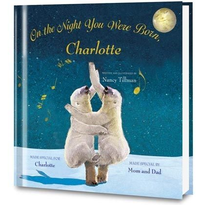On the Night You Were Born Personalized Book    Love love love this book!