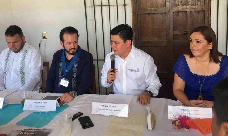 La Secretaría de Turismo del Gobierno de Oaxaca (SECTUR Oaxaca), autoridades del municipio de Santo Domingo Tehuantepec y la empresa Aeromar