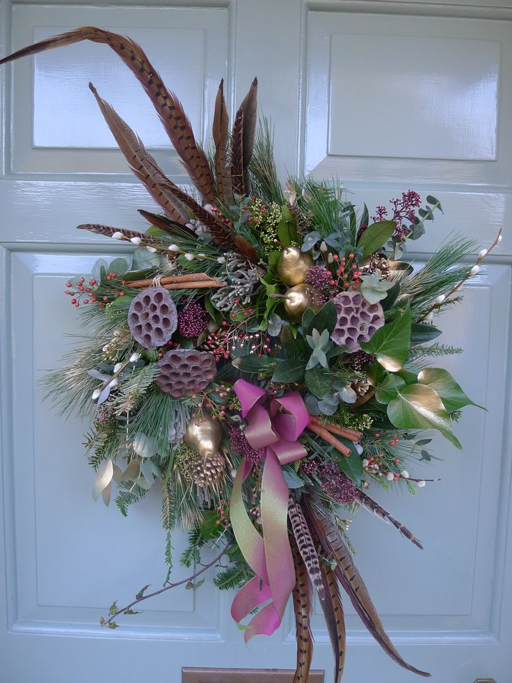Bespoke Christmas Door Wreaths Made With Love By Lindsey