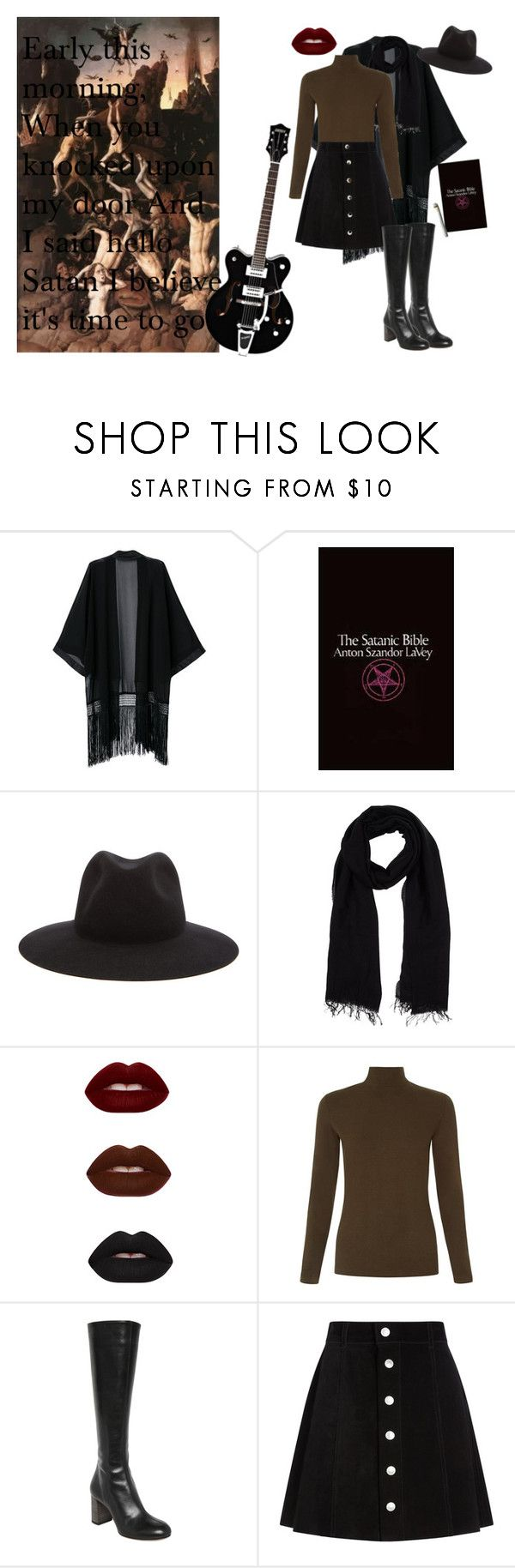 """""""Me and the Devil Blues."""" by queenofthenineteen-seventies ❤ liked on Polyvore featuring rag & bone, Blue Les Copains, Chloé and AG Adriano Goldschmied"""