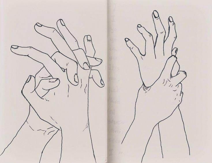 Spotle$$ Mind - Hands Illustration / Pen Line Drawings