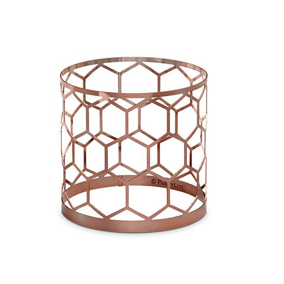Partylite Rose Honeycomb Jar Sleeve This Looks Amazing With The Jar Pedestal Rose Jar Candle Holder Candle Jars Honeycomb