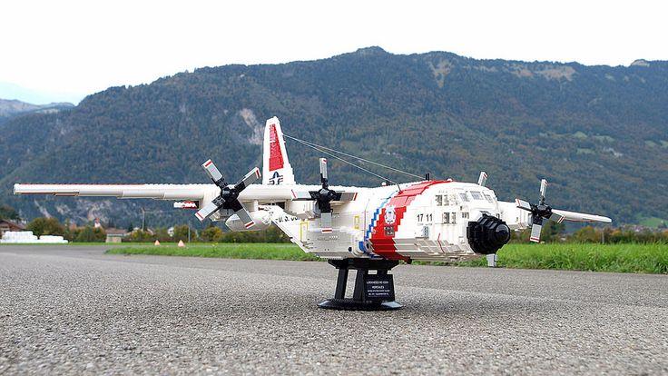 Lockheed+HC-130H+Hercules+United+Stated+Coast+Guard+No.+1711