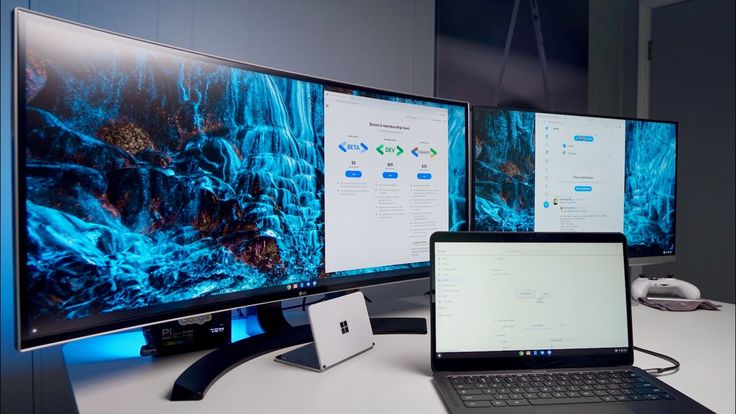 Chromebook MultiMonitor Extended Display Setup YouTube
