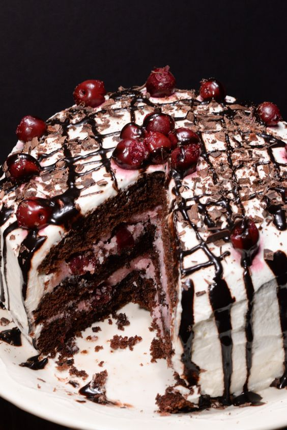 les 25 meilleures idées de la catégorie german black forest cake