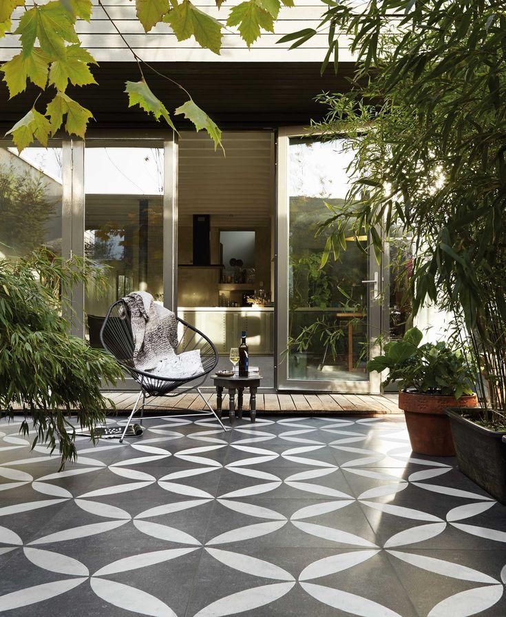 17 beste idee n over buiten tegels op pinterest tegel buiten en buiten idee n - Dek een terras met tegels ...