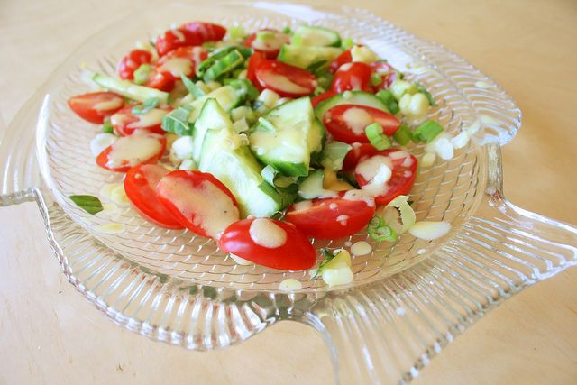 An Easy Late Summer Salad Recipe — Dishmaps