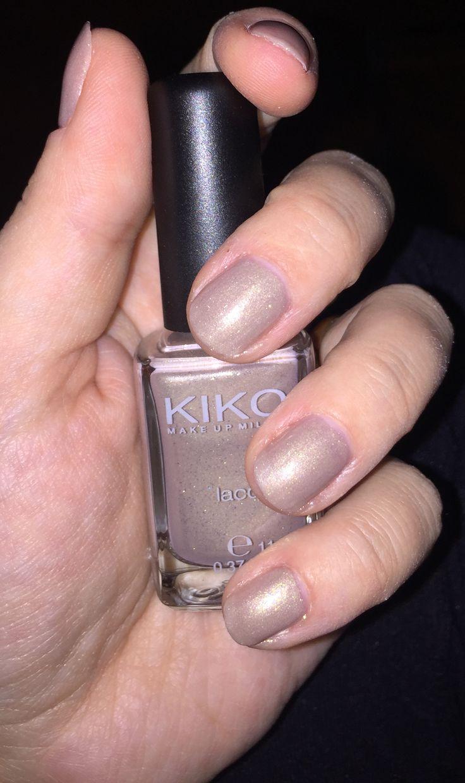 Love this nailpolish  Kiko Nail Lacquer 479 Sesamo Dorato Perlato #bellezzaprecaria #nails #nail #nailpolish #nailstagram #instanails #instanail #smalto #unghie #kiko #kikocosmetics #kikomilano #nailcare #naillacquer