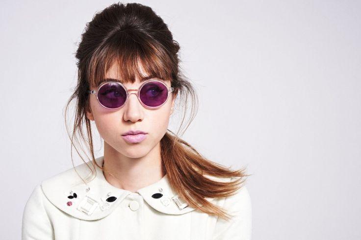Warby Parker Zoe Kazan glasses eyewear sunglasses