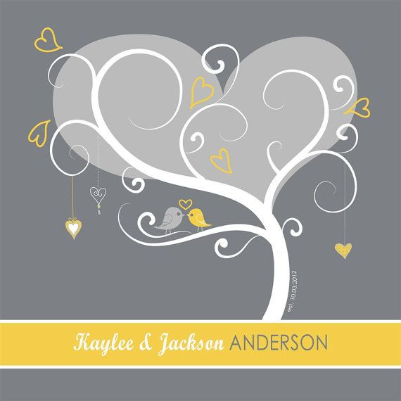 Thumbprint Tree Guest Book  Wedding Tree  by InvitingMoments, $15.00