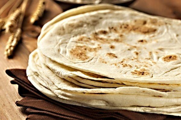 Těsto na tortilly