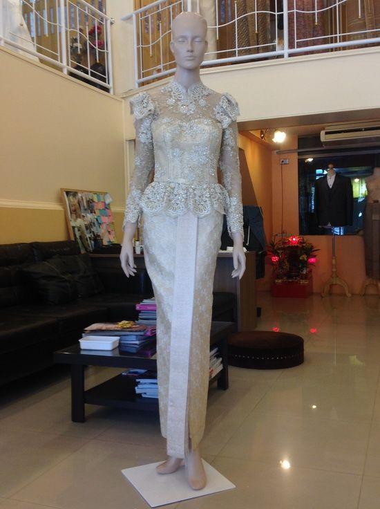 costume of thailand ชุดไทยมีแขน ชุดไทยประยุกต์ มาใหม่