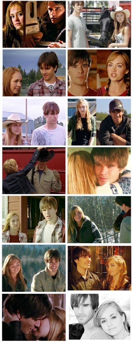 Heartland - Amy and Ty Moments from each episode- Season 1