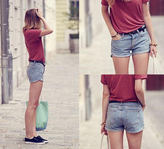 American Apparel Boyfriend Shorts