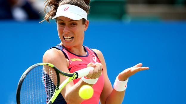 You Go Girl! Nottingham Open: Johanna Konta claims 300th win as Heather Watson goes out #sports #tennis http://www.bbc.co.uk/sport/tennis/40260080