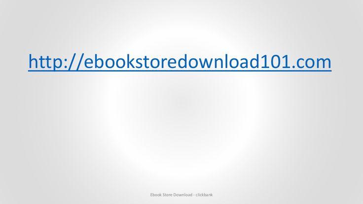 Ebook store download - clickbank