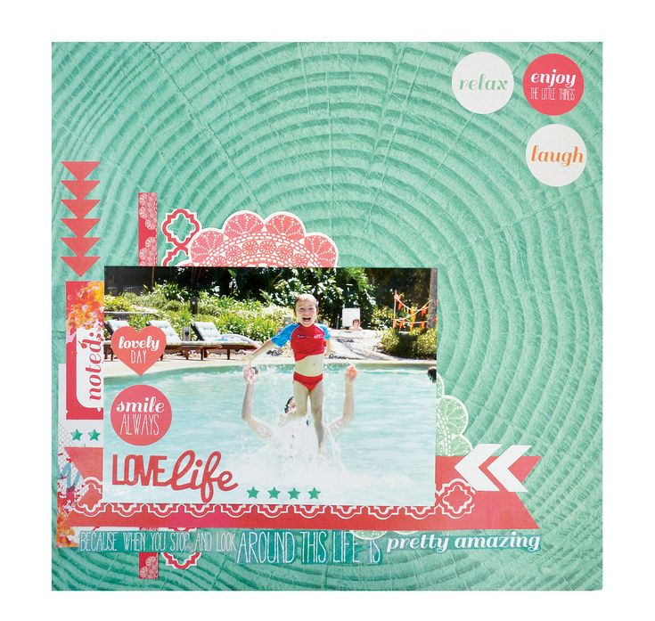 Love Life - Kaisercraft Chase Rainbows Collection