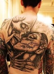 Image result for mexican day of the dead tattoo