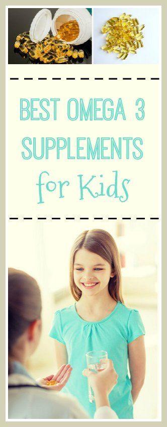 Best Omega 3 Supplements for Kids