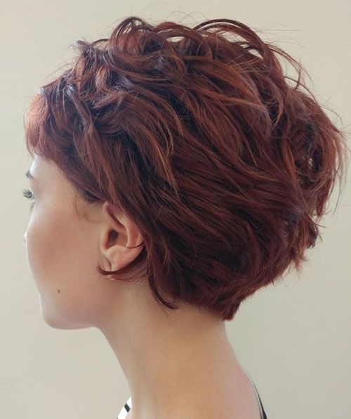 Latest pictures of short hairstyles for thick hair