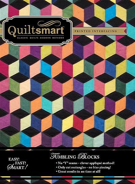 8 best Quiltsmart Tumbling Block images on Pinterest Tumbling