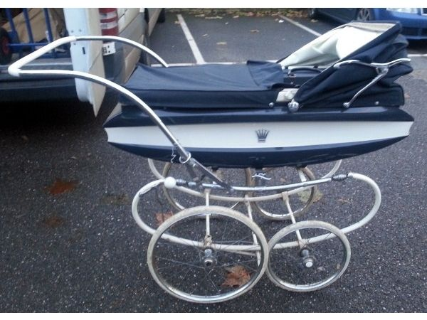 Vintage Babies or Childs Pedigree Pram Full Size in perfect condition Somerset Picture 1