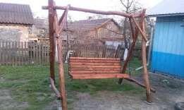 Гойдалка деревяна