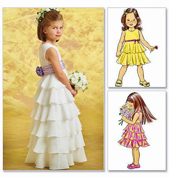 The 25  best Flower girl dress patterns ideas on Pinterest | Dress ...