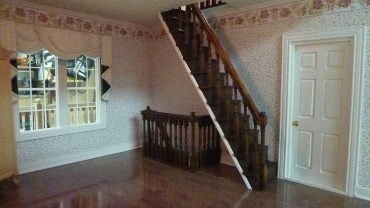 Best 25 Farmhouse Stairs Ideas On Pinterest: 49 Best My Victoria's Farmhouse Dollhouse Build And