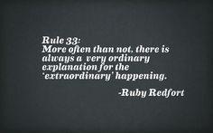 ruby redfort rule 33